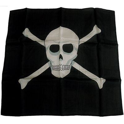 "18"" Skull Silk by Magic By Gosh"