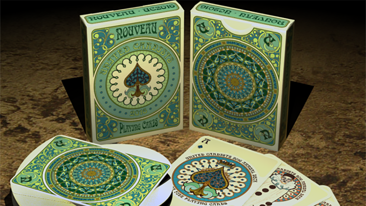 Nouveau Playing Cards - United Cardists 2016 Annual Deck