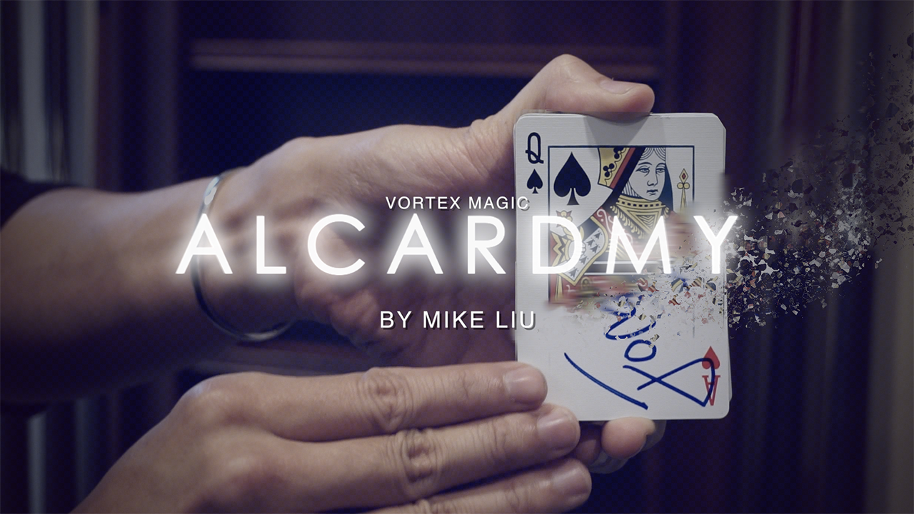 Alcardmy by Mike Liu & Vortex Magic... MagicWorld Magic Shop
