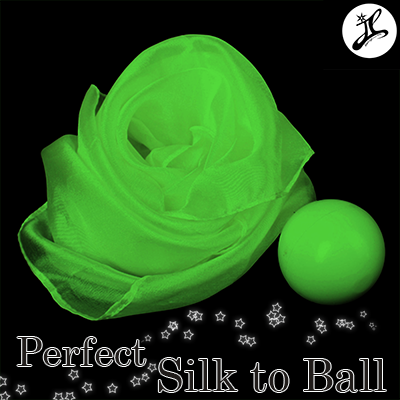 Perfect Silk to Ball GREEN (Automatic) - JL Magic