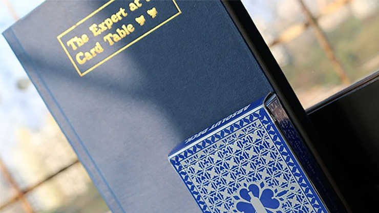 Expert At The Card Table Journal (Blue) by Magic Encarta