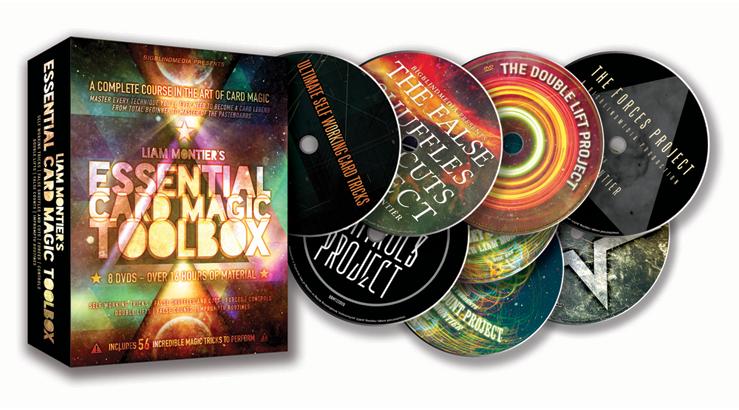 Liam Montier's Essential Card Magic Toolbox (8 DVD set)