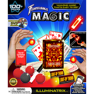 Illuminatrix Kit - Fantasma Magic - Kit de Magia para Niños