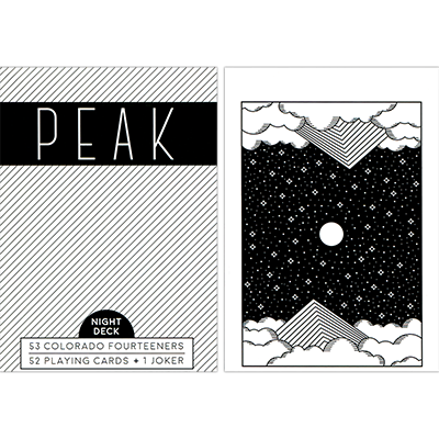 Peak Playing Cards (Night) by USPCC