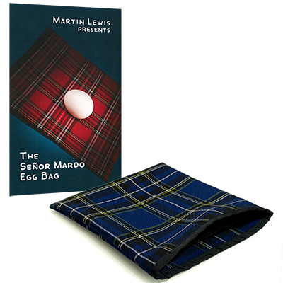 Senor Mardo Egg-Bag (Blue) - Martin Lewis
