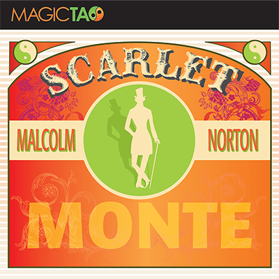 Scarlet Monte Blue(Gimmick and Online Instructions) by Malcolm Norton - Trick