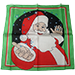 Silk 18 inch Santa by Magic By Gosh