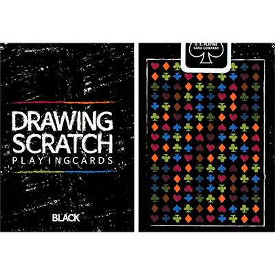 Drawing Scratch Playing Cards - Cartas Bicycle