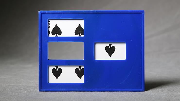 Zig Zag Card (plastic) by Mr. Magic - Trick