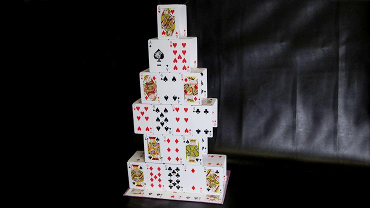 Card Castle (Standard) by Mr. Magic - Trick
