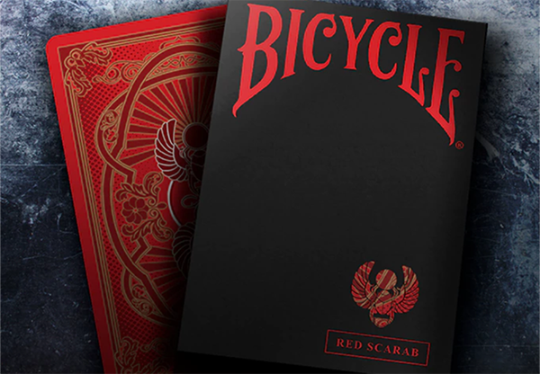 Cartas Bicycle Scarab (Rojo) Playing Cards - Crooked Kings