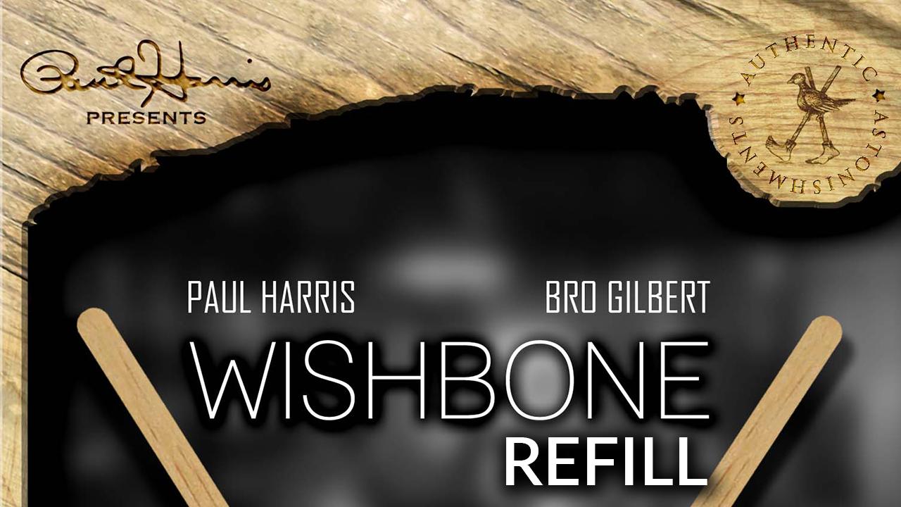 Paul Harris Presents Refill for Wishbone (25pk) by Paul Harris and Bro Gilbert