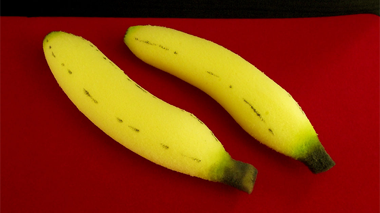 Sponge Bananas (medium/2 pieces) by Alexander May
