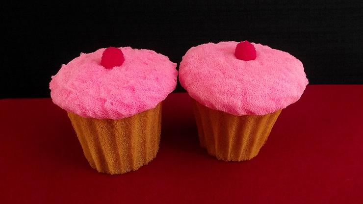 Sponge Cupcake (2 pieces)