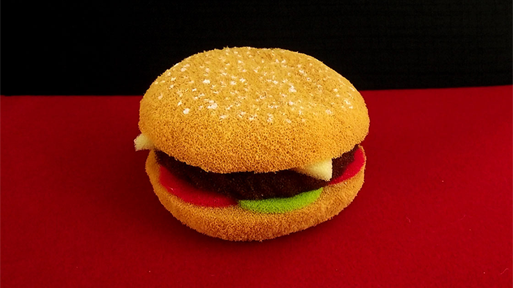 Sponge Hamburger by Alexander May