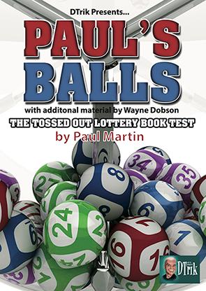 Paul's Balls (Gimmick & Instrucciones Online) - Wayne Dobson & Paul Martin