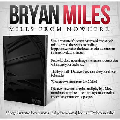 Miles from Nowhere Lecture Notes (with Bonus Tricks Online) - Bryan Miles - eBook