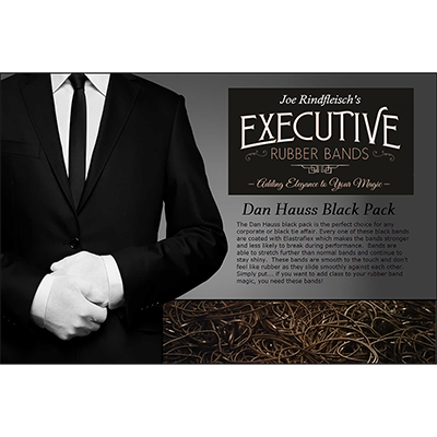 Joe Rindfleisch's Executive Rubber Bands (Dan Hauss - Black Pack)
