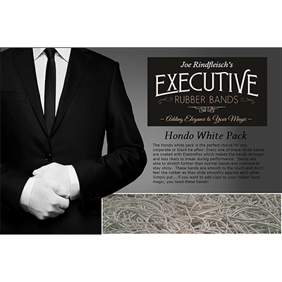 Joe Rindfleisch's Executive Rubber Bands (Hondo - White Pack)