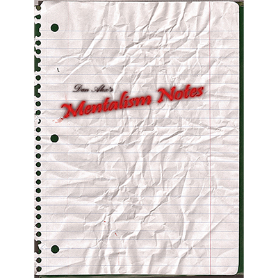 Mentalism Notes - Dan Alex - - eBook