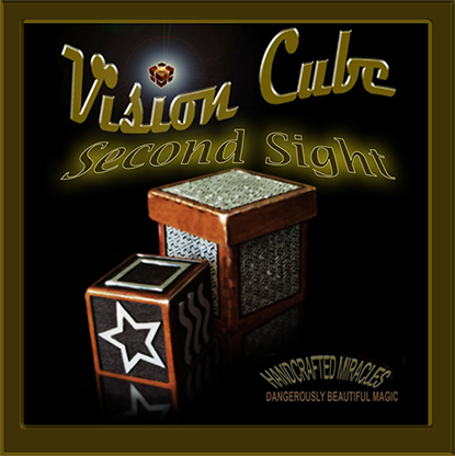 Vision Cube (ESP symbols /Second Sight cube ) by Hand Crafted Miracles