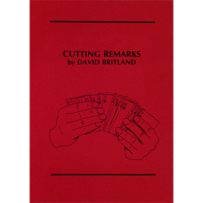 Cutting Remarks by David Britland - Book