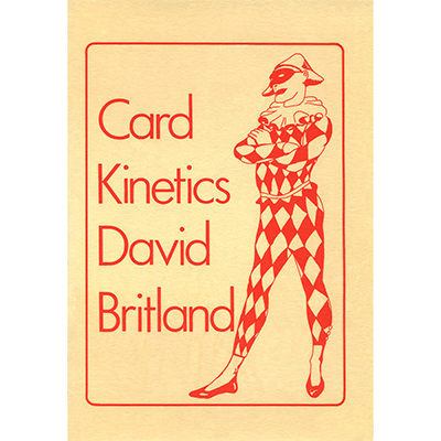 Card Kinetics by David Britland - Book