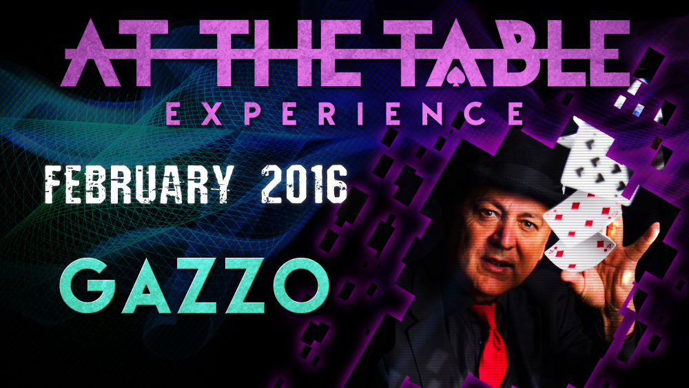 At the Table Live Lecture - Gazzo February 3rd