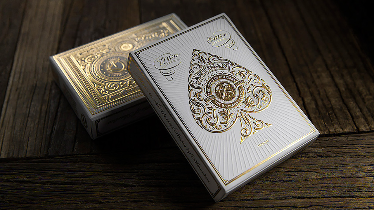 Artisan Playing Cards - Cartas Bicycle (White) - Theory 11
