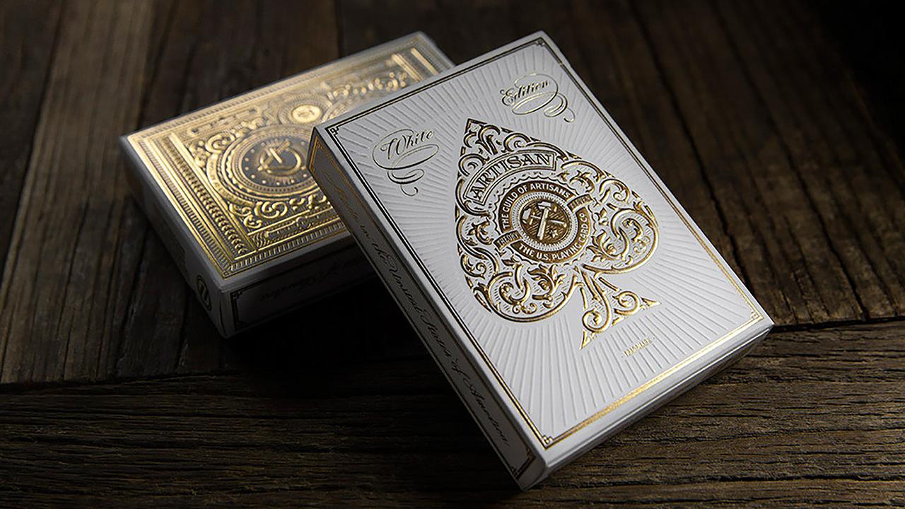 Artisan Playing Cards - Cartas Bicycle (White) - Theory 11