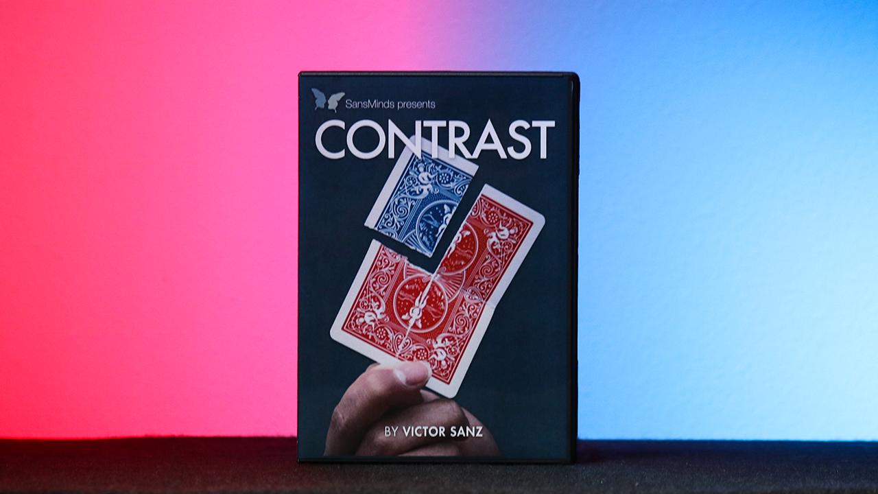 Contrast (DVD & Gimmick) - Victor Sanz & SansMinds