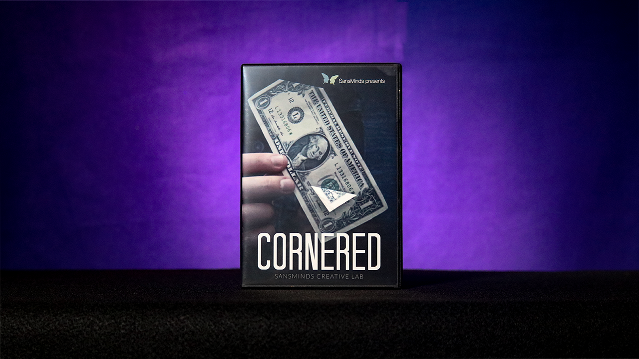 Cornered (DVD and Gimmick Set) by SansMinds Creative Lab