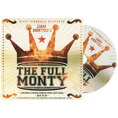 The Full Monty (DVD and Gimmick) by Liam Montier - DVD