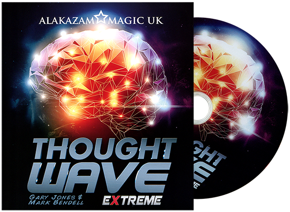 Thought Wave Extreme (Asccesorios & DV Diamantes) - Gary Jones & Alakazam Magic - DVD