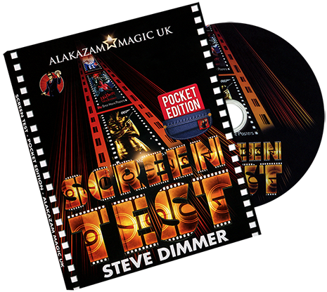 Screen Test Pocket Action Pack Edition (DVD and Gimmicks) by Steve Dimmer