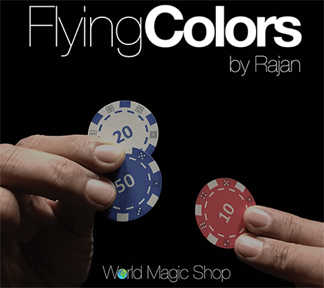 Flying Colors (Gimmicks & Instrucciones Online) - Rajan - DVD