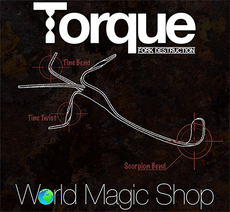 Torque (Gimmick & Instrucciones Online) - Chris Stevenson & World Magic Shop - DVD