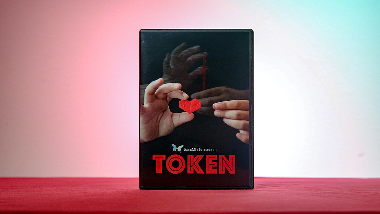 Token (DVD & Gimmick) - SansMinds Creative Lab - DVD