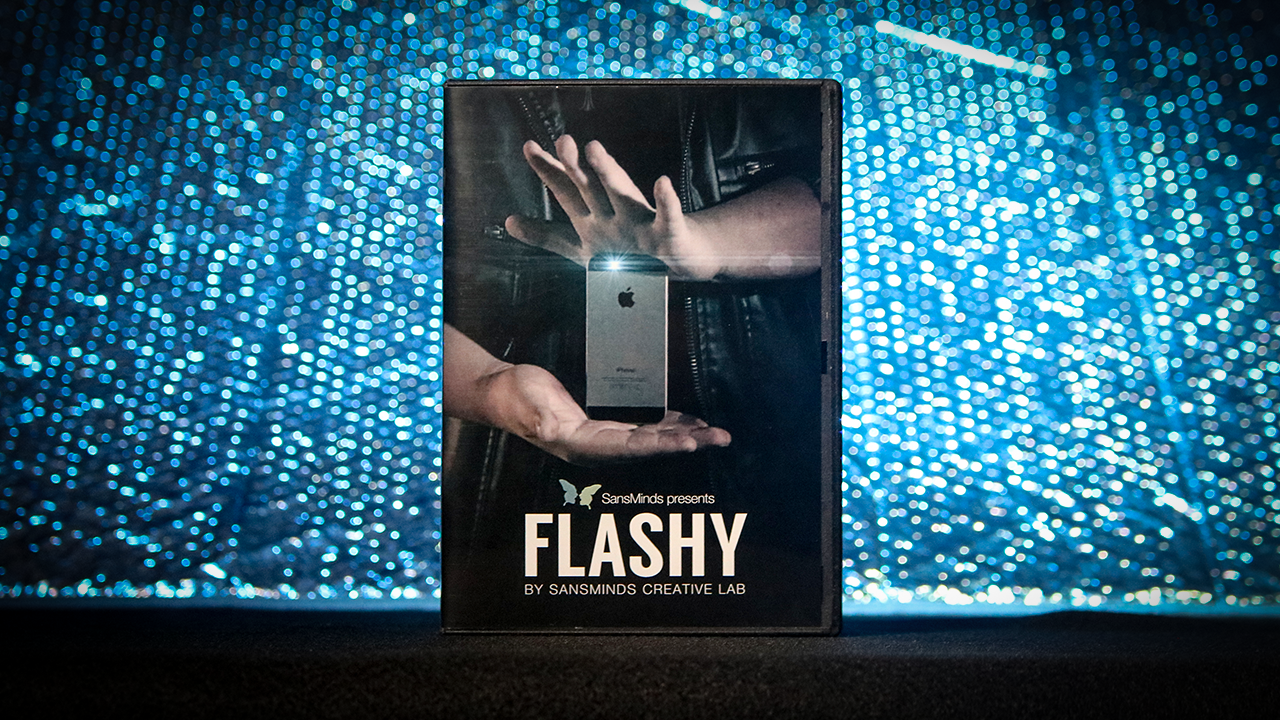 Flashy (DVD & Gimmick) - SansMinds Creative Lab - DVD
