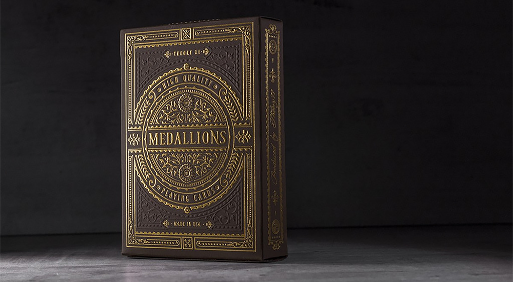 Medallion Playing Cards - Theory 11
