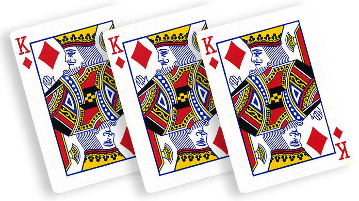 Flash Poker Card King of Diamonds (Ten Pack)