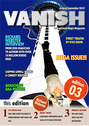 VANISH Magazine August/September 2012 - Richard Webster eBook DO