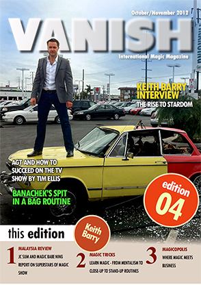 VANISH Magazine October/November 2012 - Keith Barry - eBook