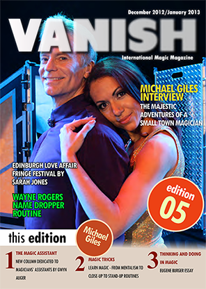 VANISH Magazine December 2012/January 2013 - Michael Giles - eBook
