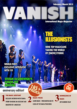 VANISH Magazine February|March 2013 - The Illusionists eBook DOWNLOAD