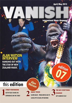 VANISH Magazine April/May 2013 - Alan Watson - eBook