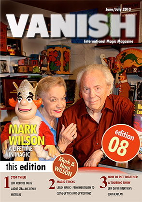 VANISH Magazine June|July 2013 - Mark Wilson eBook DOWNLOAD