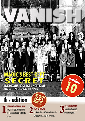 VANISH Magazine October|November 2013 - Hal Myers North Korea Visit eBook DOWNLOAD