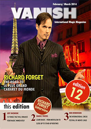VANISH Magazine February|March 2014 - Richard Forget eBook DOWNLOAD