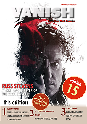 VANISH Magazine August|September 2014 - Russ Stevens eBook DOWNLOAD